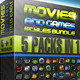 Movies & Games Styles Premium BUNDLE - GraphicRiver Item for Sale