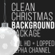 Clean Christmas Background Package - VideoHive Item for Sale