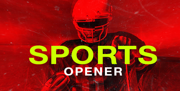 VideoHive Sports Opener 20953468