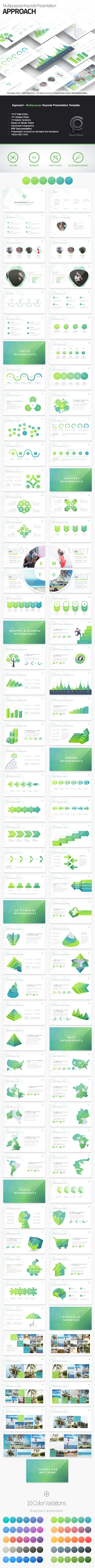 GraphicRiver Approach Multipurpose Keynote Presentation Template 20953615