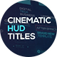 Cinematic HUD Titles - VideoHive Item for Sale