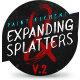 Expanding Splatters - Paint Elements Vol.2 - VideoHive Item for Sale