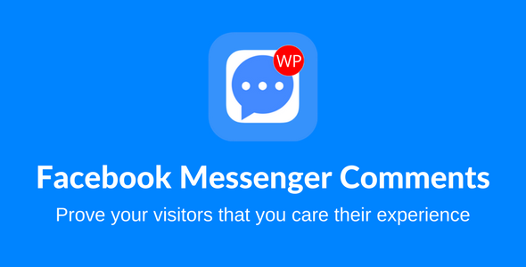 CodeCanyon Facebook Messenger Comments For WordPress 20908961