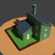 Low Poly Farm House 2