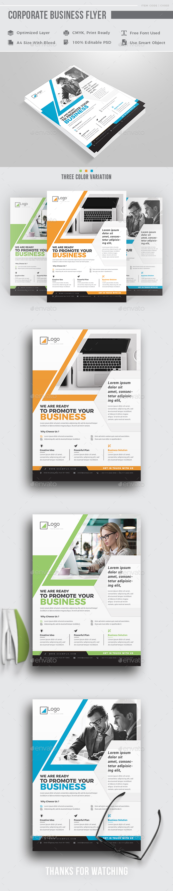 GraphicRiver Corporate Flyer 20953804