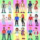 Set of Homosexual and Heterosexual Couples - GraphicRiver Item for Sale