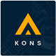 Kons ! Construction PSD Template - ThemeForest Item for Sale