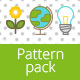 Illustrated Pattern Vector Pack