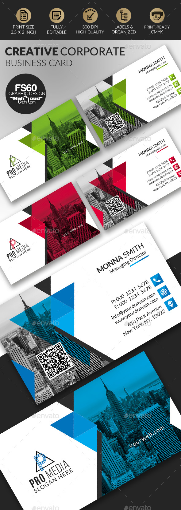 GraphicRiver Business Card 20954021
