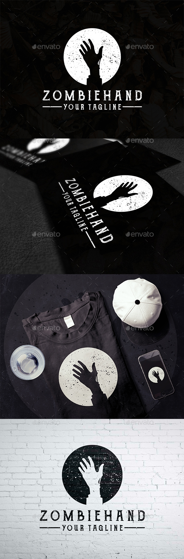 GraphicRiver Living Dead Creative Logo 20954120