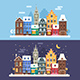 Christmas City Winter Landscape - GraphicRiver Item for Sale