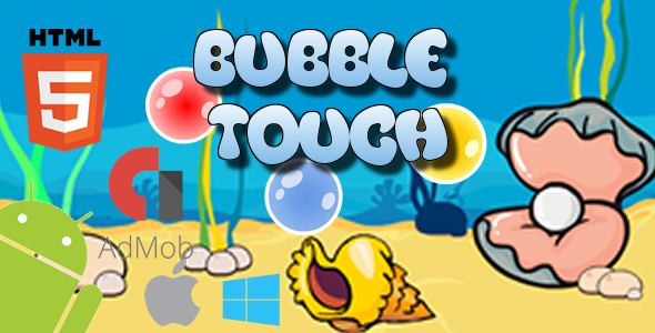 CodeCanyon Bubble Touch HTML5 Game 20954369