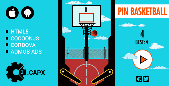 Pin Basketball - CodeCanyon Item for Sale