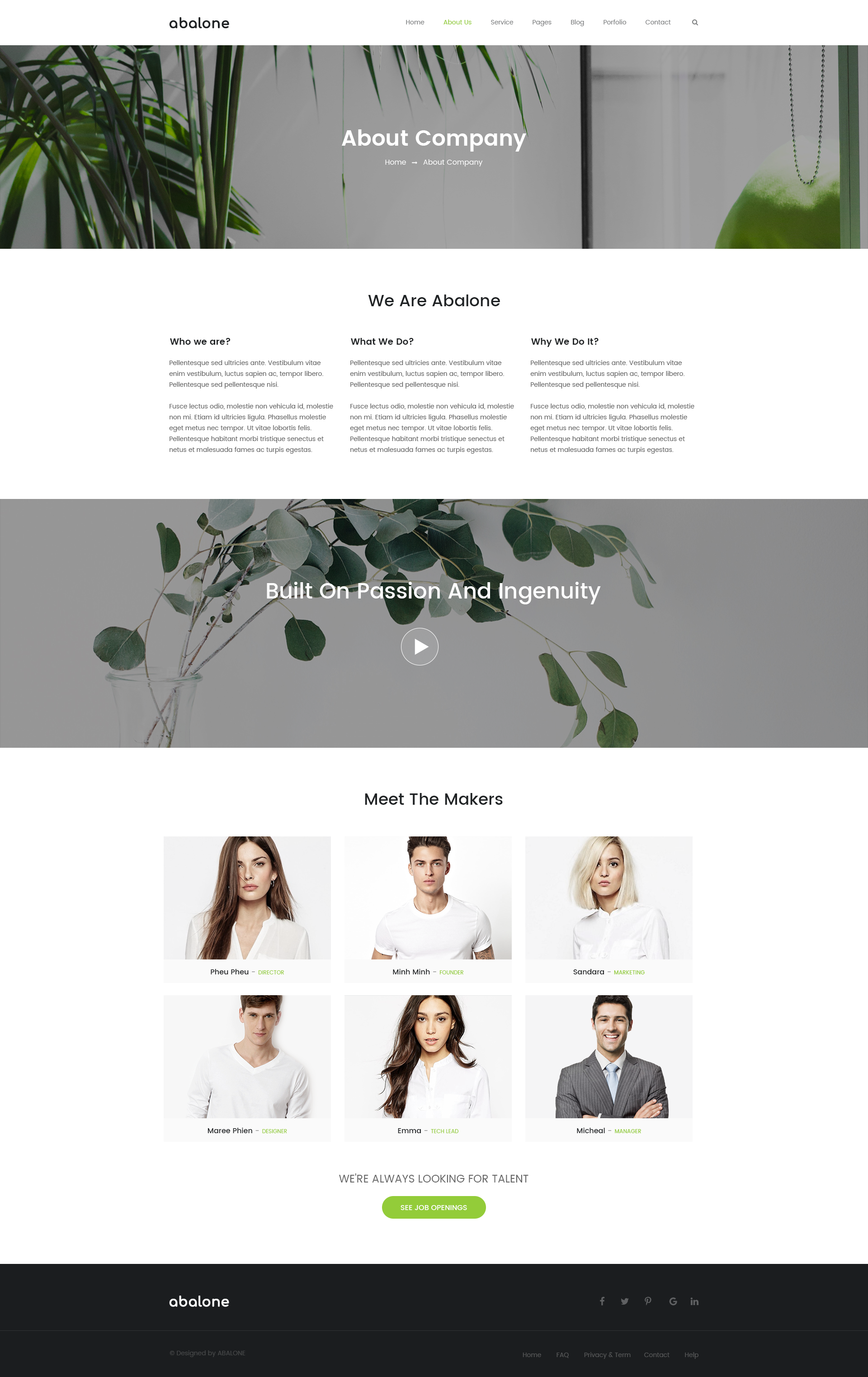 Abalone Creative Multi-Purpose PSD Template by AbaloneThemes ...