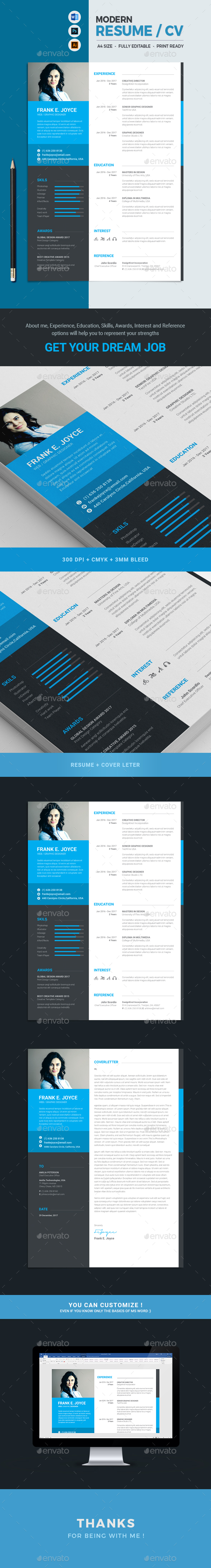 GraphicRiver Resume 20954834