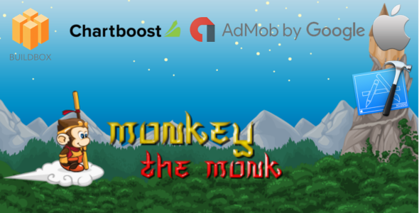 monkey the monk - Buildbox Game Template + iOS Xcode Project Template (BBDOC) - CodeCanyon Item for Sale
