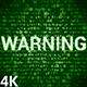 Warning 4K (2 in 1) - VideoHive Item for Sale