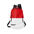 Backpack with flag of Monaco