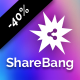 ShareBang, Ultimate Social Share Buttons for WordPress.