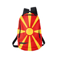 Backpack with flag of Macedonia