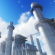 3D Power Station in Industrial Area - VideoHive Item for Sale