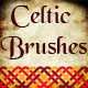 Celtic Knot Ornament Brushes -  Weaving Motive Adobe Illustrator Brushes