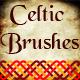 Celtic Knot Ornament Brushes -  Weaving Motive Adobe Illustrator Brushes - GraphicRiver Item for Sale