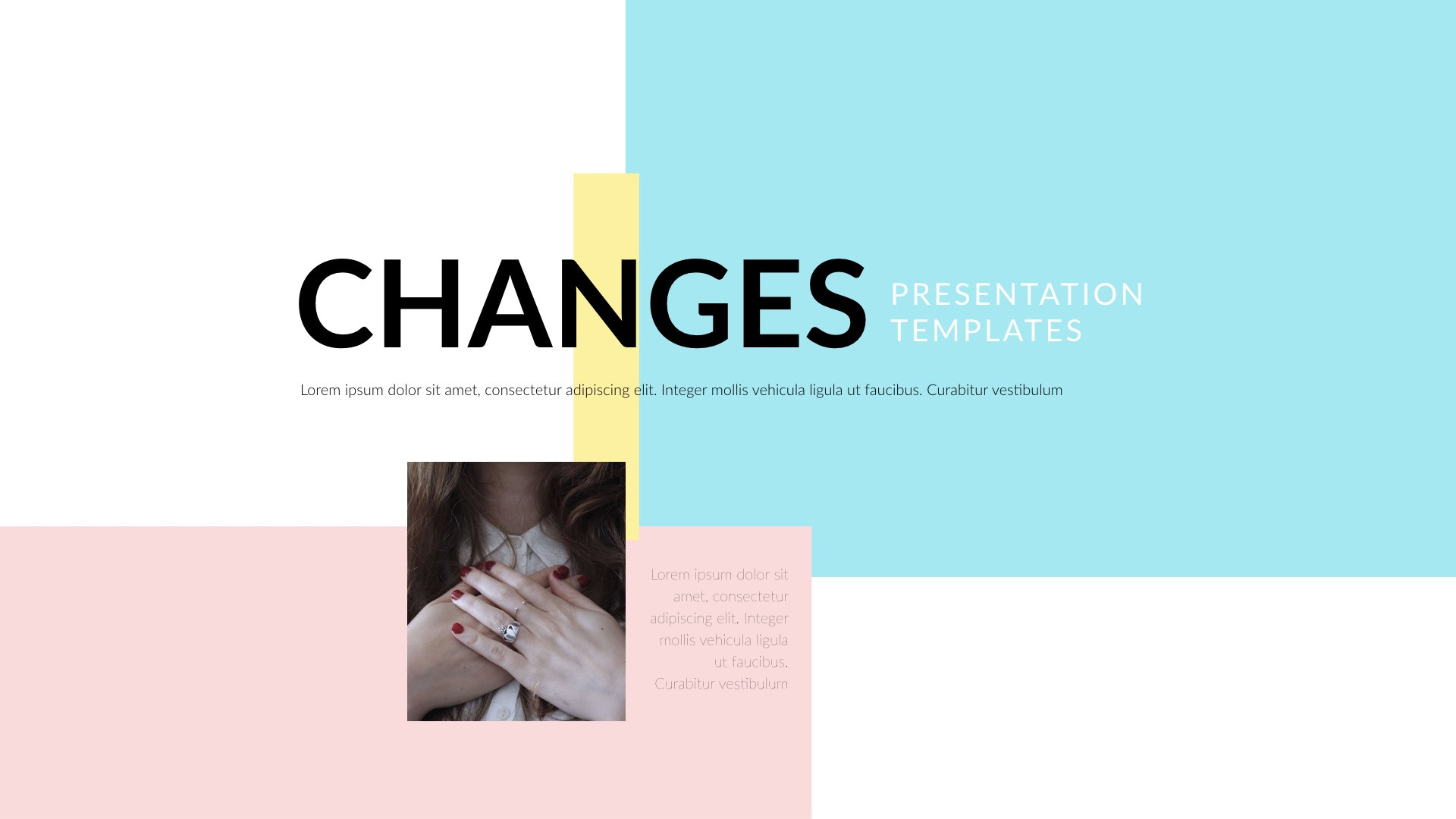 Changes - Keynote Presentation Template by 5yue | GraphicRiver