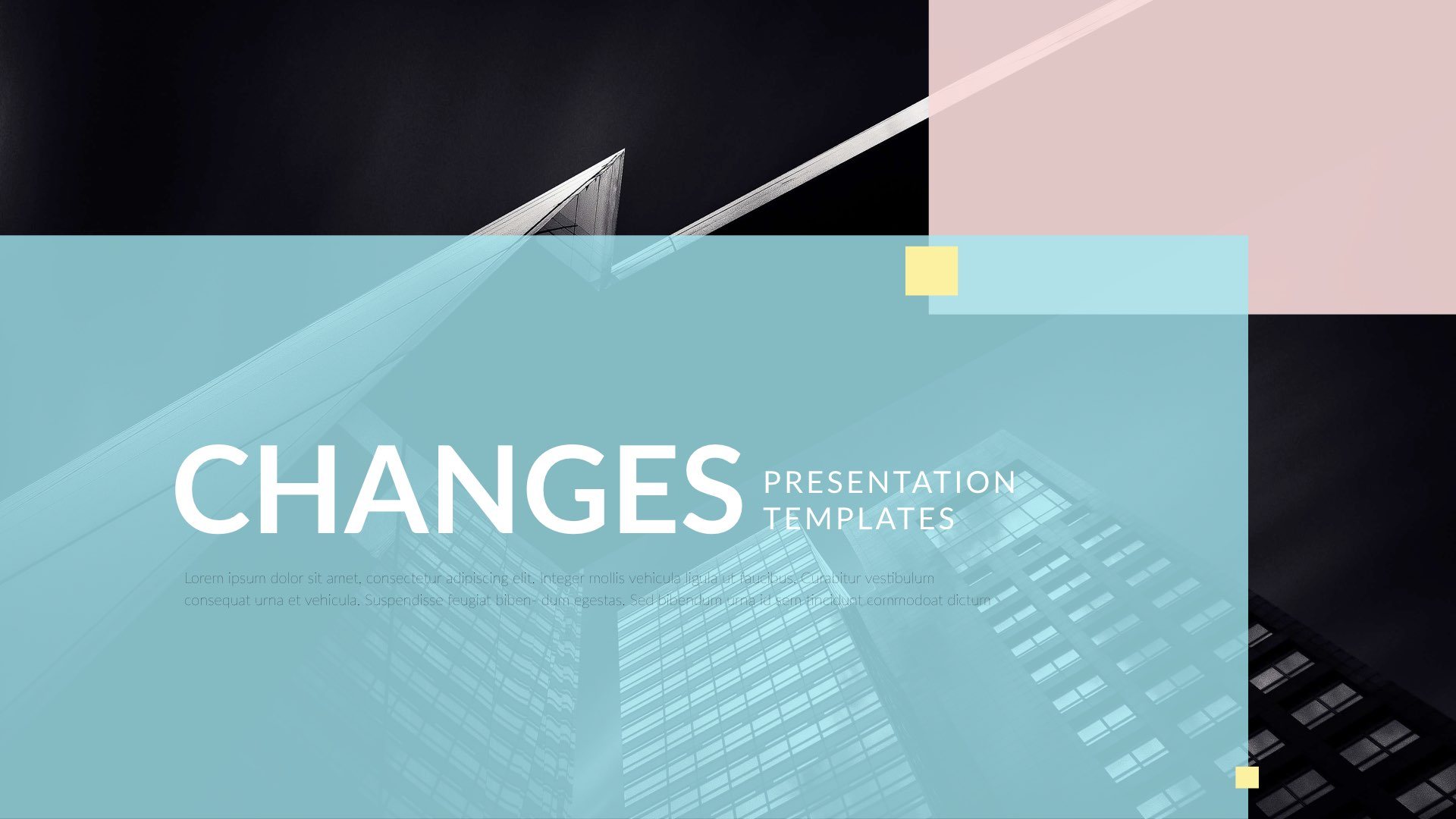Changes Keynote Presentation Template By 5yue Graphicriver