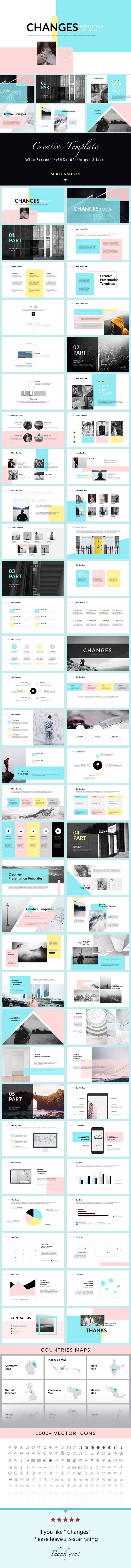 GraphicRiver Changes PowerPoint Presentation Template 20955595