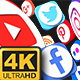 Social Media Social Media Transitions (4K) - VideoHive Item for Sale