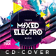 Mixed Electro - Cd Artwork - GraphicRiver Item for Sale
