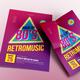 Retromusic Back to 80's - GraphicRiver Item for Sale