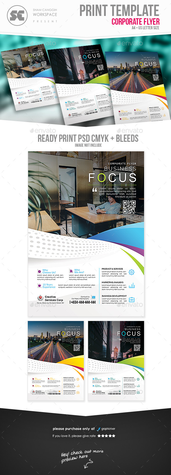 GraphicRiver Business Flyer 20955715