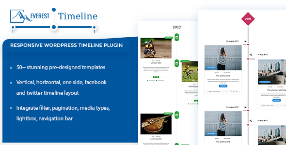 CodeCanyon Everest Timeline Responsive WordPress Timeline Plugin 20922265