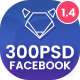 Fashion Facebook Post - 300PSD - GraphicRiver Item for Sale