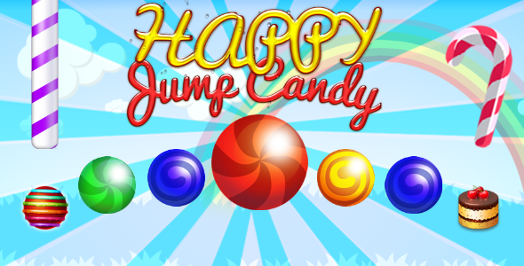 CodeCanyon Sweet Candy Jump iOS 20955990