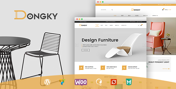 VG Dongky - Clean & Minimal WooCommerce WordPress Theme