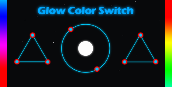 Glow Color Space ANDROID and iOS - BUILDBOX - CodeCanyon Item for Sale