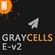 Graycells Email v2 - Responsive With Stampready Online Builder 60+ Modules
