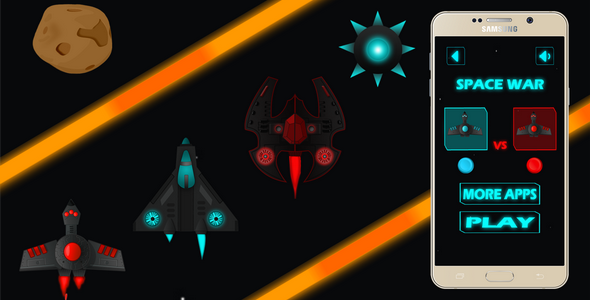 CodeCanyon Space Racing attack double players Android and iOS BUILDBOX 20956178