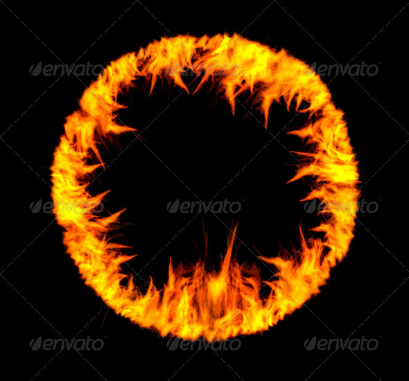 Ring Of Fire - Abstract Conceptual