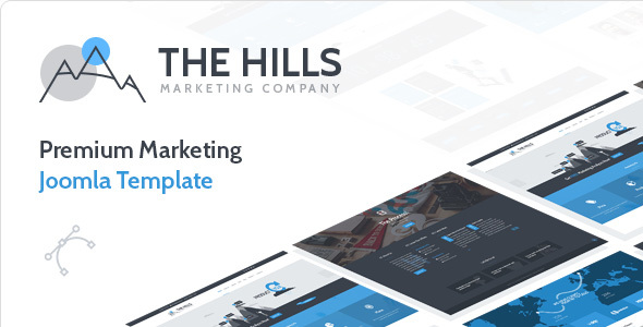 Image of The Hills - Premium Marketing Joomla Template