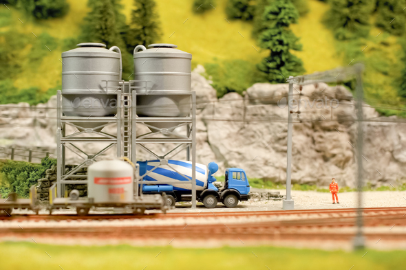 cement truck - Stock Photo - Images
