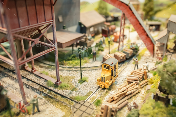 lumber yard - Stock Photo - Images