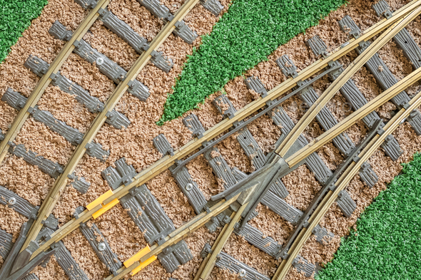 train tracks - Stock Photo - Images