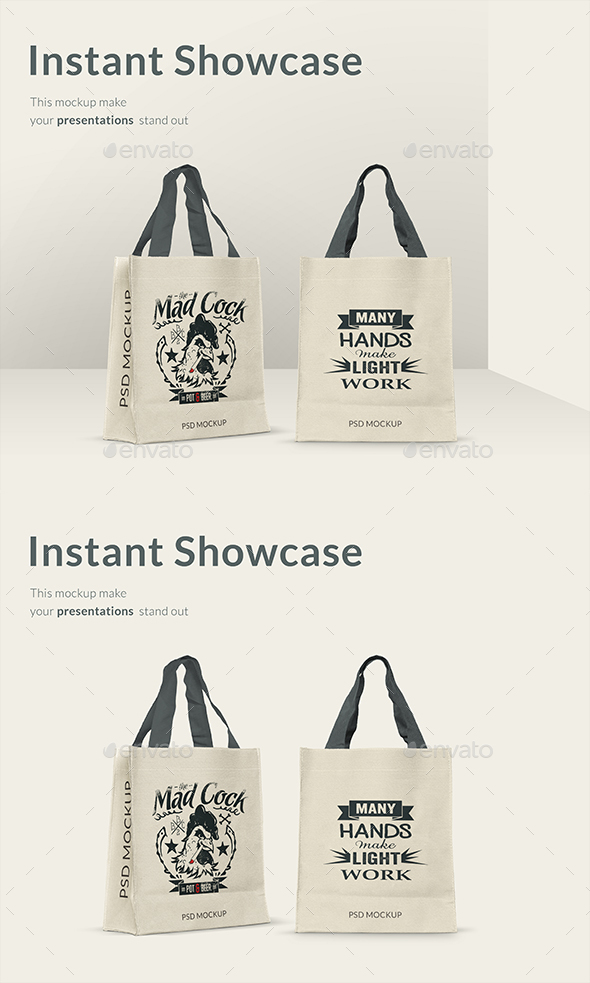 Shopping Bag Mockup - Product Mock-Ups Graphics