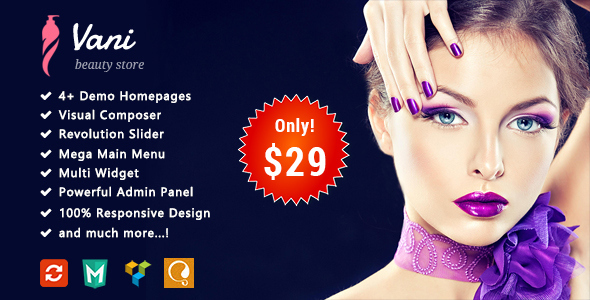 ThemeForest Vani Beauty Responsive WooCommerce WordPress Theme 20335912