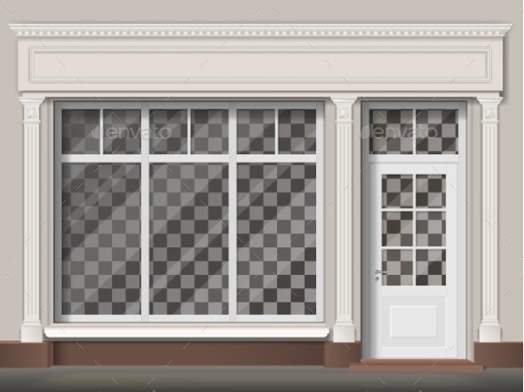 GraphicRiver Traditional Shop Facade 20957726
