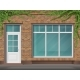 Brick Store Front with Large Window and Ivy - GraphicRiver Item for Sale